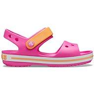 Crocband Sandal Kids, Electric Pink/Cantaloupe
