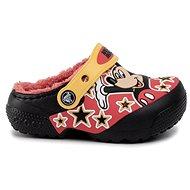 CrocsFL Mickey Mouse Lnd Clg Kids Black černá - Pantofle