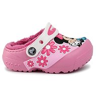 CrocsFL Minnie Mouse Lnd Clg Kids Pink Lemon růžová - Pantofle