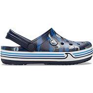 Crocband Shark Clog PS Navy modrá