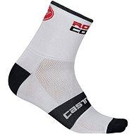 Castelli Rosso Corsa 9 Sock White XXL - Ponožky