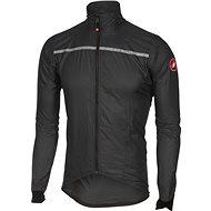 Castelli Superleggera Jacket Anthracite/Yellow XL - Bunda