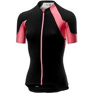 Castelli Sheggia 2 Jersey FZ Black/Pink L - Cyklodres