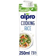 Alpro Plant-Based Alternative to Cooking Cream - Rice, 250ml - Herbal Drink