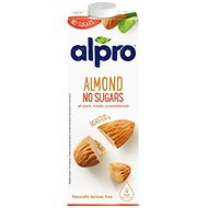 Alpro Unsweetened Almond Drink, 8x1l - Herbal Drink