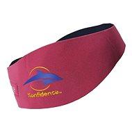 Konfidence Aquabands detská, ružová - Neoprénová čelenka