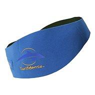 Konfidence Aquabands pre dospelých, modrá - Neoprénová čelenka