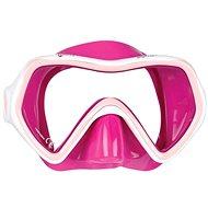 Mares Comet, ružový silikón, ružový rámček - Maska