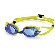 Head Venom, modré/limetkové - Plavecké okuliare