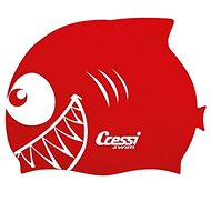 Cressi Kid swimm cap, červená - Plavecká čiapka