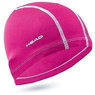 Head Polyester cap, ružová - Plavecká čiapka