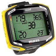 Mares QUAD, čierno/žltý - Potápačský počítač