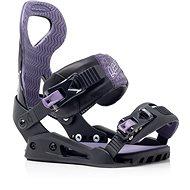 Viazanie na snowboard Drake Queen, Black veľ. M