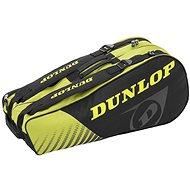 Dunlop SX-CLUB 6 RAKET čierna/žltá - Taška