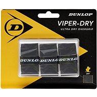 Tenisový grip DUNLOP Viper-Dry omotávka čierna
