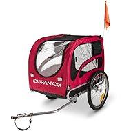 Duramaxx King Rex červený - Vozík za bicykel