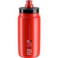 ELITE fľaša FLY červená/čierne logo, 550 ml - Fľaša na vodu