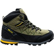Elbrus Muerto mid wp Light khaki/Black/Yellow - Trekingové topánky