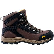 Elbrus Talon mid wp Dark brown - Trekingové topánky