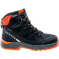 Elbrus Tares mid wp jr Black/Dark grey/Orange - Trekingové topánky