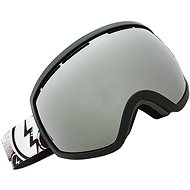 ELECTRIC EG2 DUCK TAPE brose/silver chrome - Lyžiarske okuliare