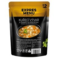 Expres Menu Chicken Broth with Meat and Vegetables - MRE