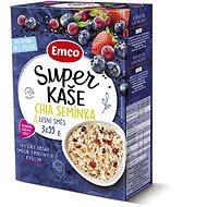 Emco Super kaše Chia semínka & lesní směs 3x55g - Kaša