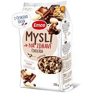 Emco Mysli sypané – čokoláda 750 g - Müsli