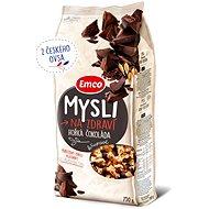 Emco Mysli chrumkavé – horká čokoláda 750 g - Müsli