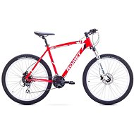"ROMET RAMBLER 26 4 Red – White veľ. M/18"" - Horský bicykel 26"""