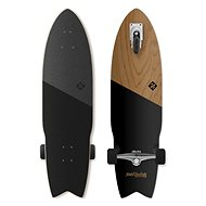 Street Surfing Shark Attack Koa Black - Longboard