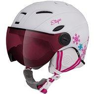 Etape Rider Pro biela/ružová mat 53 – 55 cm - Lyžiarska prilba