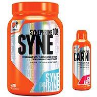 Extrifit Carnitin 120000 lenom – orange + Extrifit Syne 10 mg Thermogenic Burner 60 tbl - Sada