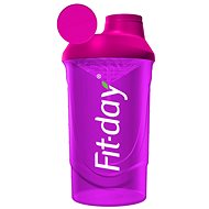 Fit-day Shaker 600 ml ružový - Shaker