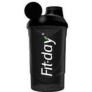 Fit-day Shaker 600 ml čierny - Shaker