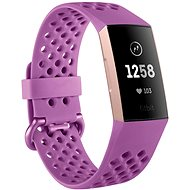 Fitbit Charge 3 Berry - Fitness náramok