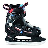 Fila J-One Ice HR Black/Red/Blue - Detské korčule na ľad