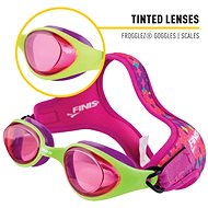 Okuliare Frooglez Scales Tint - Plavecké okuliare