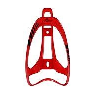 Force LIMIT plastový, červený lesklý - Košík na fľašu
