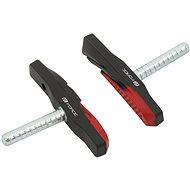 Force čap jednorazové, čierno-červené 70 mm - Brzdové gumičky