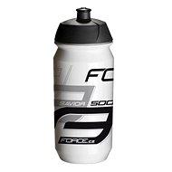 Force SAVIOR 0,5 l, bielo-sivo-čierna - Fľaša na vodu