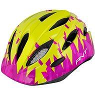 Force ANT, fluo-ružová - Prilba na bicykel
