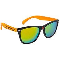 Force FREE čierno-oranžové, oranžové laserové sklá - Cyklistické okuliare