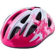Force LARK detská, ružovo-biela - Prilba na bicykel