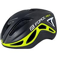 Force REX, čierno-fluo - Prilba na bicykel