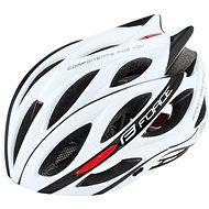 Force BULL, White-Black - Bike Helmet