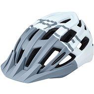 Prilba na bicykel Force CORELLA MTB, sivo-biela S – M, 54 cm – 58 cm