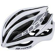 Force SAURUS, biela - Prilba na bicykel