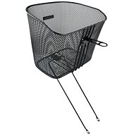 Force front with struts, black - Bike Basket