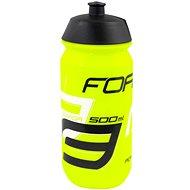 Force SAVIOR 0,5 l, fluo-čierno-biela - Fľaša na vodu